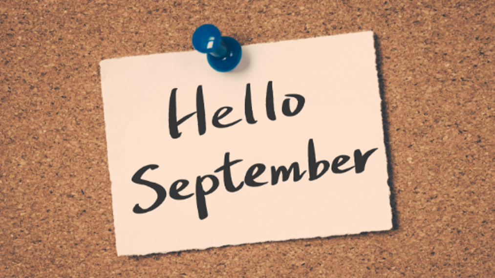September is a Time to Reset Your Goals